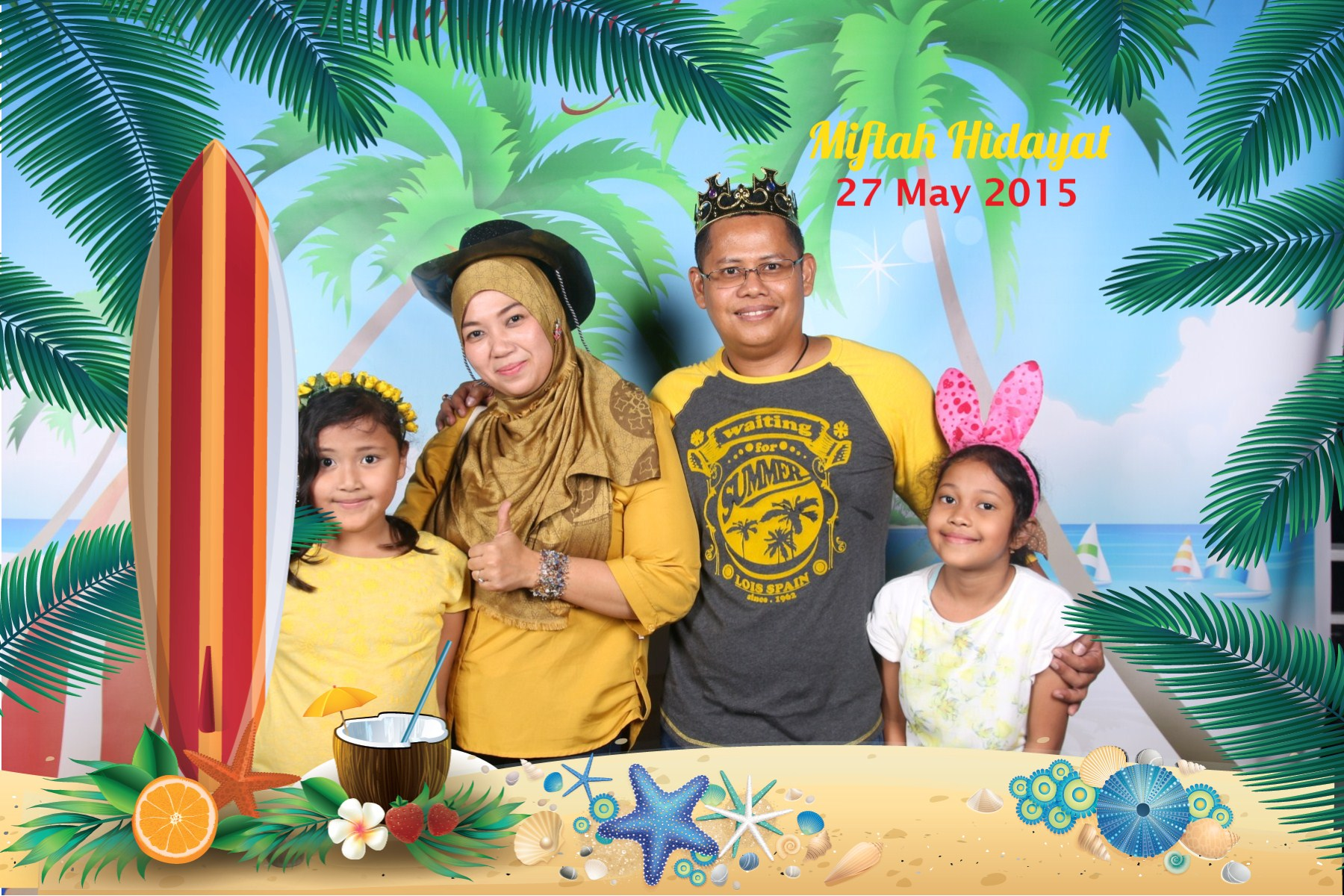 Birthday Miftah @CMYK Photobooth (10)