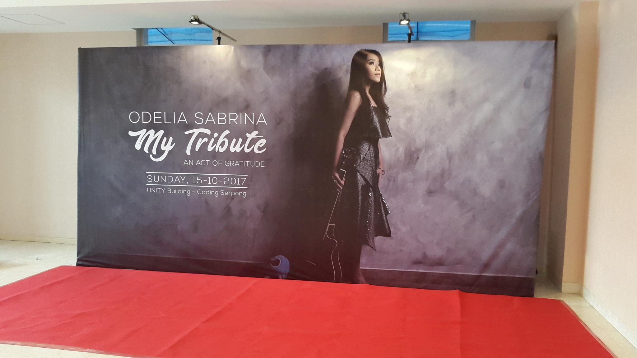 Backdrop Printing CMYK for Concert